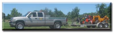 Trenching services for the Twin Cities, Chisago City and Forest Lake areas in Minnesota.